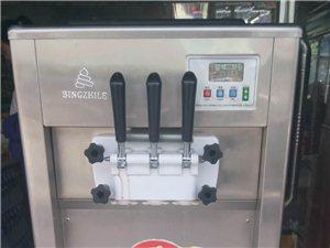 冰激凌机两项电2000元代3箱脆桶一箱蛋筒