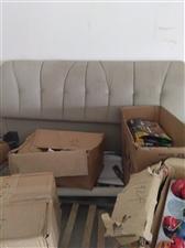 结婚一年的真皮床,沙发,衣柜。白菜价格出理。都放坏了。