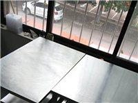 饭店9.9新不不锈钢方桌,低价出售。联系电话:15563660153