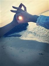 ??我对你的爱,就像海边日出一样美