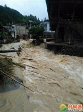5月26日,暴雨袭击上柳村