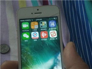 苹果5手机ID可退,16G内存,成色七成新支持三网,外屏碎不影响触摸,新换的电池,备用机首选。彩588彩票周...