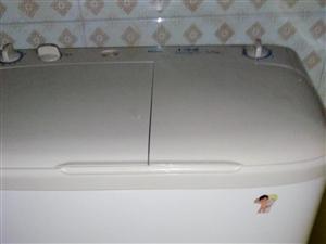 海尔兄弟双桶洗衣机100元出卖