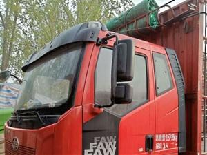 高栏货车转让 6米8的高栏货车,9成新,跑了一年半,对外转让,非诚勿扰18539236266  ...