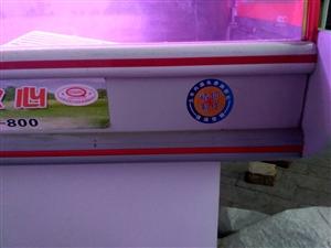 冰牛铜管冷藏展示柜2米 绞肉机切片机 九成新  价格优惠