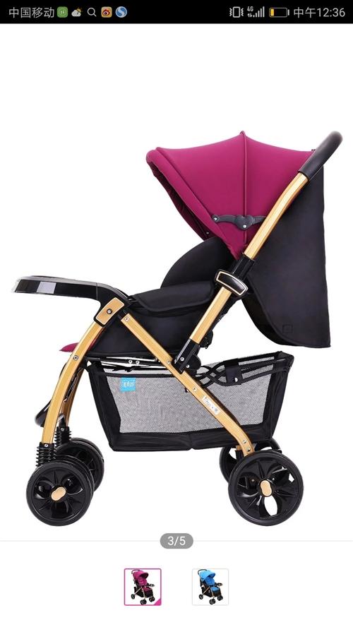 婴儿推车闲置,全新,包装盒完好,