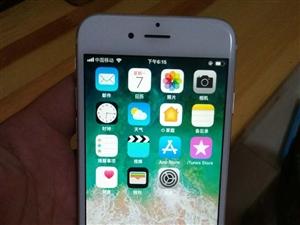 使用中苹果6.64G外壳有使用磨损