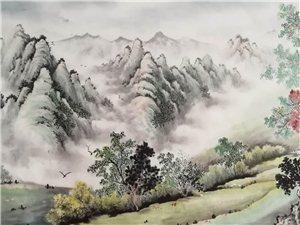 李树军国画作品欣赏