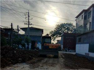 建设中的乔柿园村
