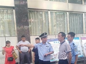 汉滨公安分局城管公安大队为考生创造良好考场氛围。
