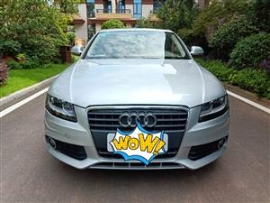 新到10年3月,极品奥迪A4L,自动1.8T美女一手私家车,里外九成新,油耗不高,动力强劲,包提档过...