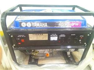 出售一台雅马哈5300FW发电机,只用了2个小时,保养的很好跟新的一样。价格美丽,识货的来。