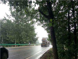 泉河二桥东至益德水泥厂西至于寨路口隐患大