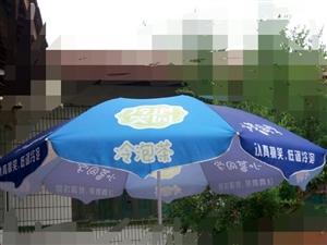 遮阳伞9成新,底座可注水或者沙子,高度可以调节