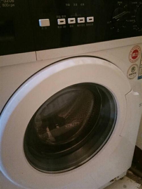 出售全自动滚筒洗衣机九成新  价格便宜   欲速从购