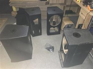 专业大功率单12寸、单15寸、双15寸hifi舞台ktv工程乐队音箱  价格优惠 不怕货比三家,全新...
