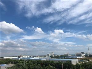 看看威尼斯人注册的蓝天白云,很难得!