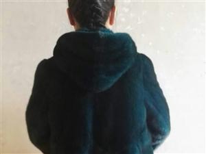 孔雀蓝进口水貂      现货包邮  胸围102  衣长76
