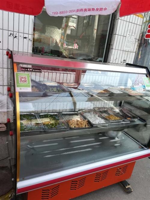 九成新涼菜熟肉展示柜,急需出手