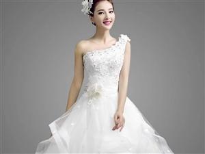 八成新婚纱,穿了一次闲置不用
