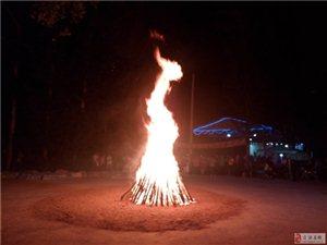 森淼乐园每周六晚篝火晚会