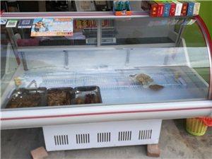 1.6米冷藏展示柜,用了1年,�F低�r出售。物品位置�V�