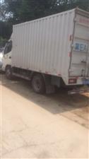 三个月奥铃捷运3.8米箱货车国五