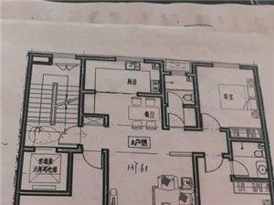 筑越洋房3室2厅2卫71.5万元