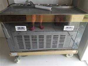 出售一台全新炒酸奶机  没有用过     变频     双机双控    可以分开使用    两个开关...