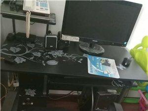惠普电脑代电脑桌子椅子,全新,由于经常不在家,所以想卖了,有开店铺需要的联系我。地址观山悦,电话18...