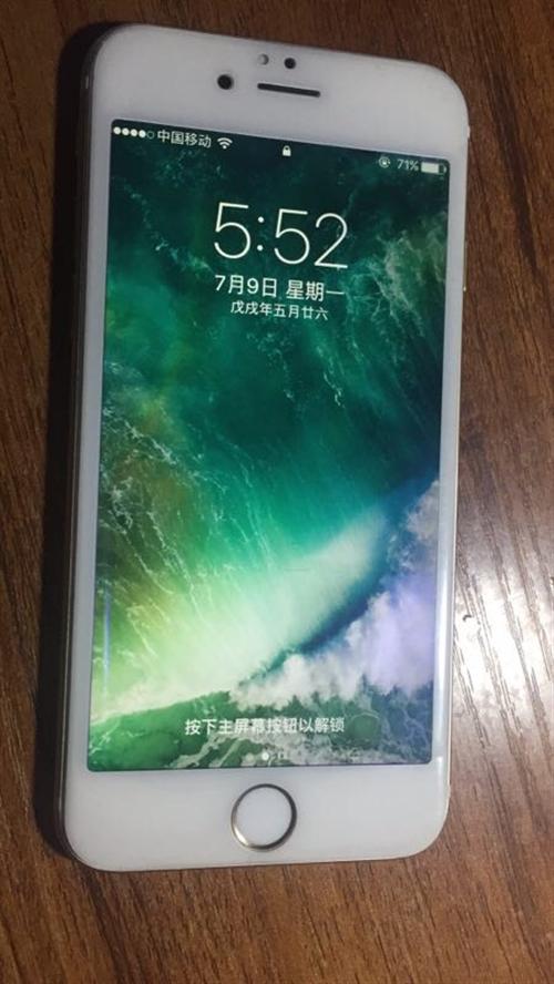 出售自用苹果6s一部,金色,16g,3网通,保证没有任何质量问题,因换手机,放着没用了,需要的可以联...