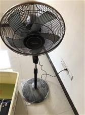 美的电风扇,可遥控,7.5小时定时,5叶,有静音模式