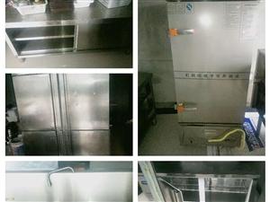 本人有九层新四开门冰柜,操作台冰箱,12格�A箱,1、8的猛火灶,1、8的操作台。