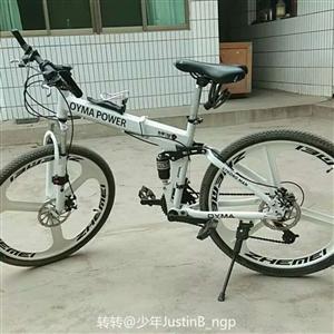 三刀变速自行车,淘宝买的,花了893元,骑了一年半,折半处理。。可简单砍价 ????