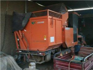 15年哈克三行玉米收割机