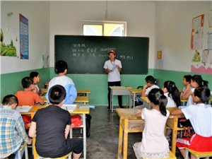 长安大学春晖志愿服务团队在临县支教