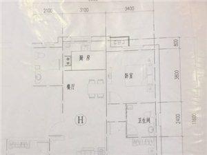 清华园四期3室2厅2卫6.5万元