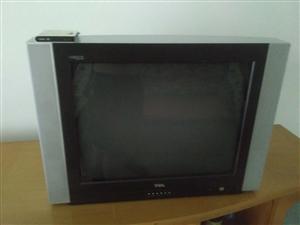 29寸显像管电视机,能正常收看。