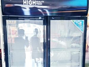 出售八成新双开门保鲜柜,1300果断出手,联系电话15691019820