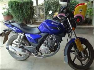 钱江御龙125摩托,五千多公里的新摩托,买了小车,摩托用不上了。有意者请联系。
