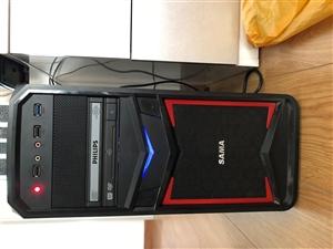 台式主机+显示器+雷蛇键鼠+音箱+摄像头全部出售,再送TCL键鼠和鼠标垫,支持同城自提,当面验货,配...