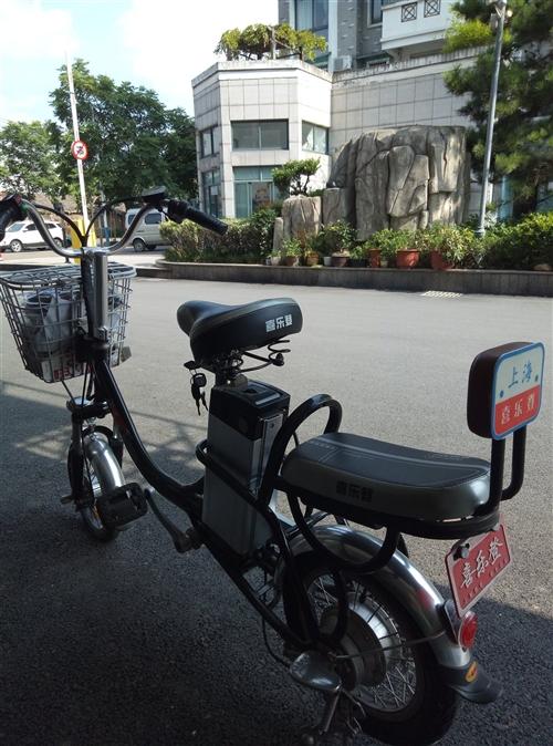 女式电动自行车,外观9成新以上,电池因长期不用,储电效果不好了,现在500元转让。