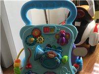 宝宝学步车方便,安全还有音乐