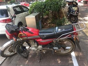 本人一台闲置二手五羊本田125男式摩托车,动力十足,车在北京赛车pk10,八成新,要的请快速联系。^o^1867...