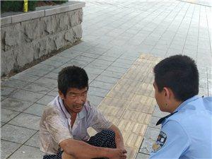 招远正能量,警察是好样的!