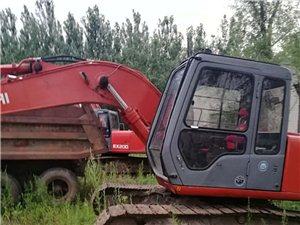 日立120挖掘机