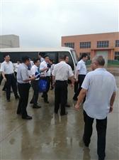 蚌埠市长和固镇县委书记一行视察安徽三星树脂科技有限公司