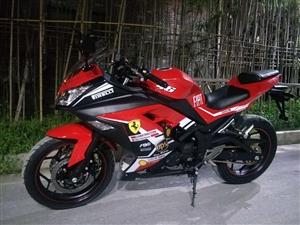 川崎小忍者,200cc     单杠,  风冷,300公里      以上牌,,已买保险,可上高速!...