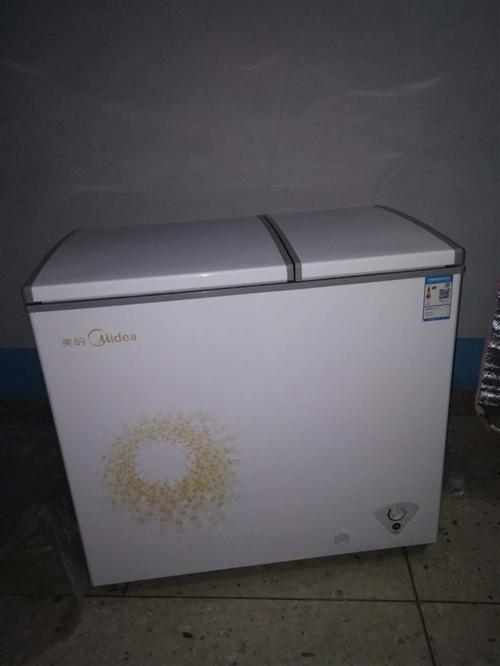 美的冰柜9.5层新
