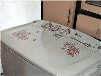 小天鵝雙桶洗衣機,自家用的。要重新購置全自動的,所以二手出售。外殼八成新,內桶九成新。自家用或者用于...